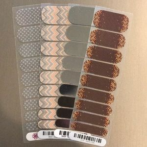 Jamberry Nail Art Half Sheet Mixed Lot